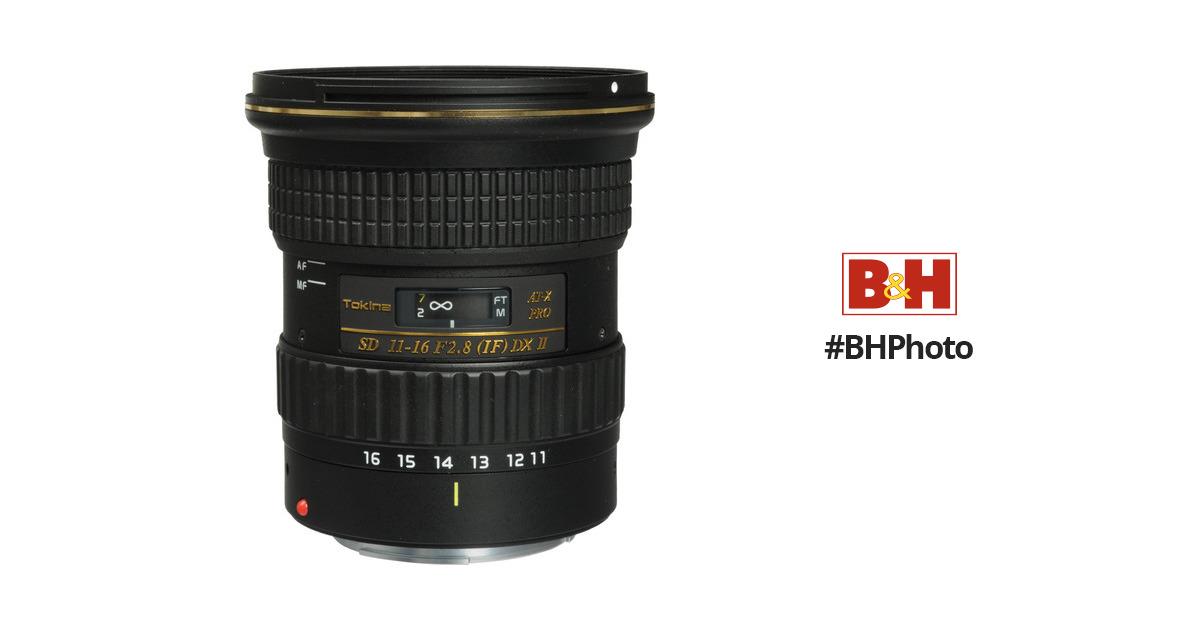 Tokina AT-X 116 PRO DX-II 11-16mm f/2.8 Lens ATXAF116DXIIC B&H