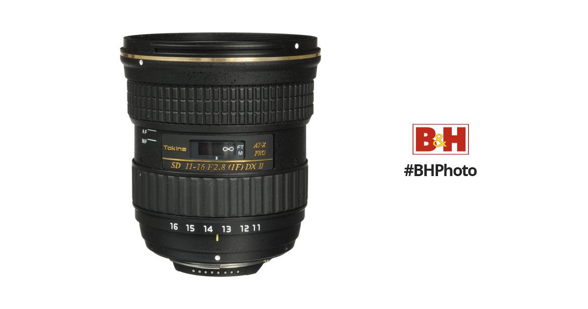 Tokina AT-X 116 PRO DX-II 11-16mm f/2.8 Lens ATXAF116DXIIN B&H