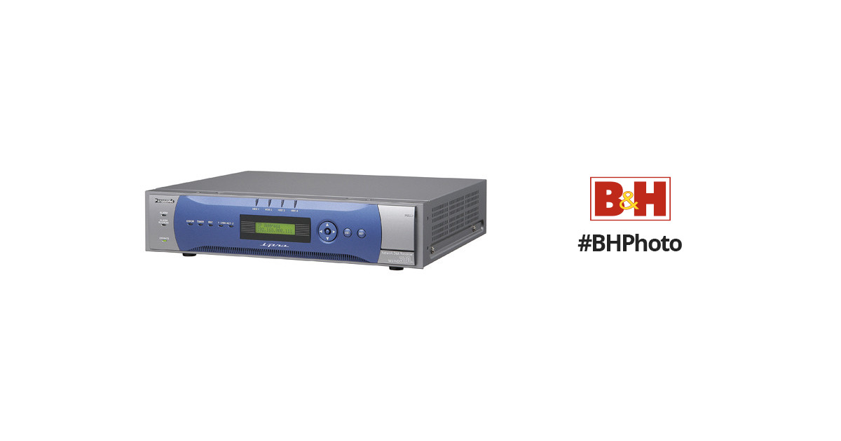 Panasonic WJ-ND300A Video Recorder Drivers for Windows 7