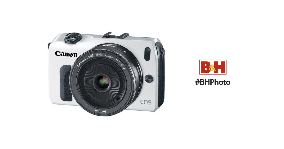 Canon EOS-M Mirrorless Digital Camera with EF-M 22mm 6610B024