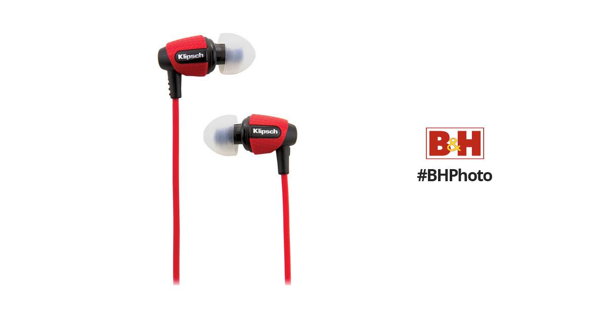Klipsch Image S4i Rugged In Ear Headphones Red