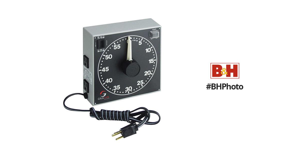 "GraLab Model 171 60 Minute General Purpose Timer Pack 7-1//2/"" Length x 1-"