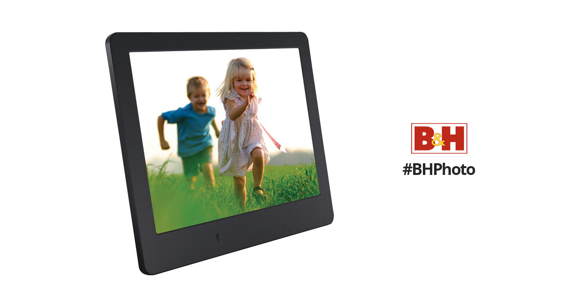 Viewsonic Vfd820 8 Digital Photo Frame Black Vfd820 50