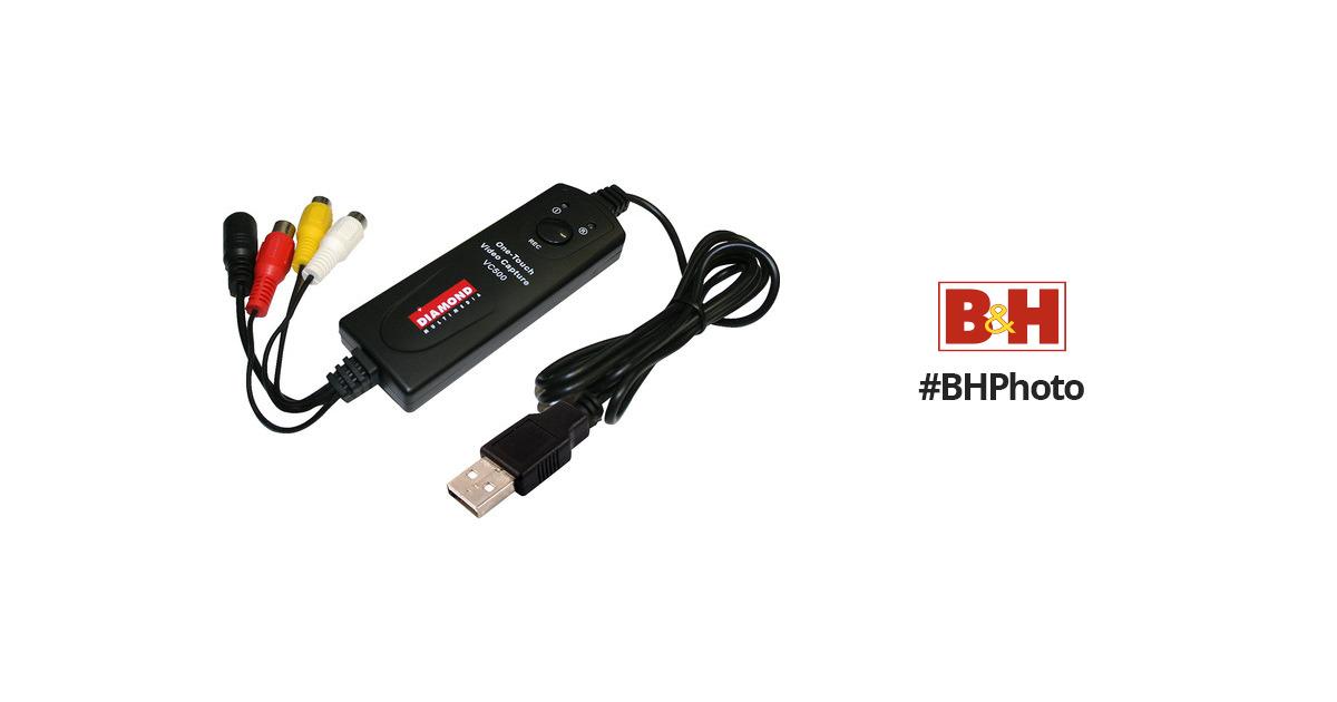 DIAMOND VC500 Video Capture Adapter Windows 7 64-BIT