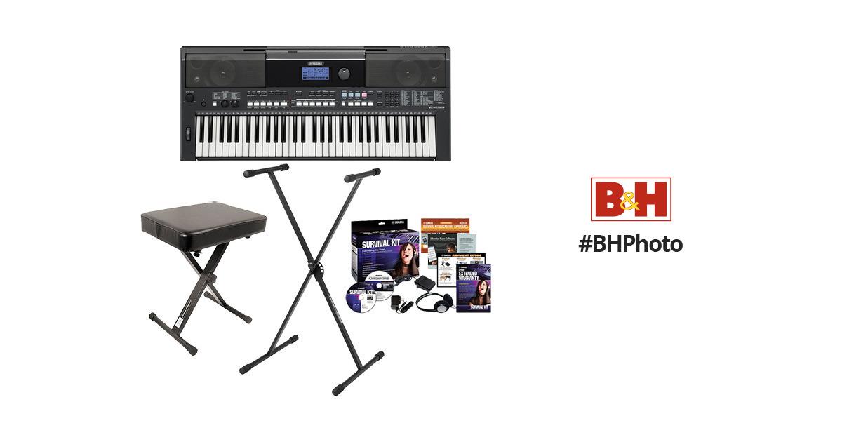 Yamaha PSR-E433 Value Bundle