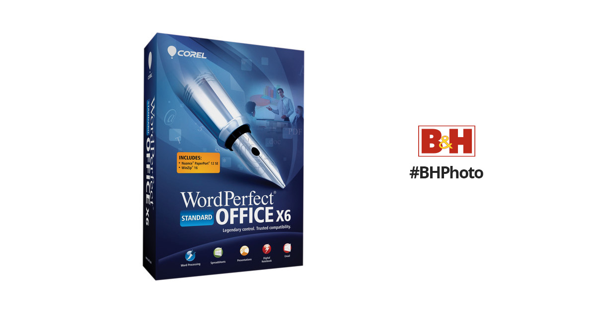 Buy Corel Wordperfect Office X6 Standard Edition With Bitcoin