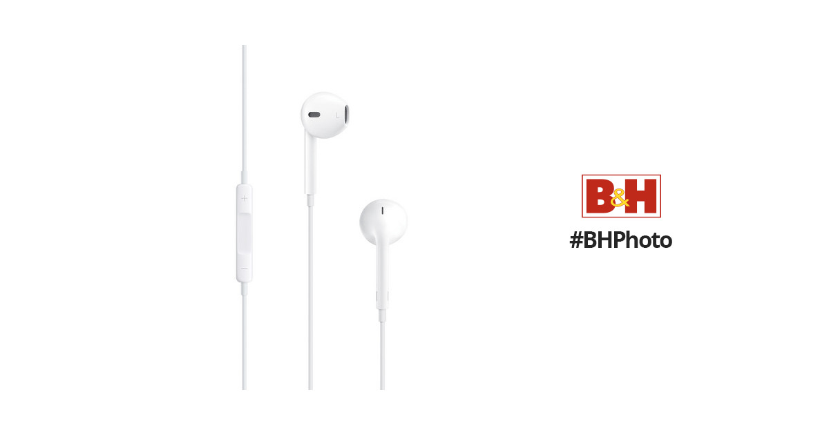 0237f5c4d78 Apple EarPods with Remote and Mic MNHF2AM/A B&H Photo Video