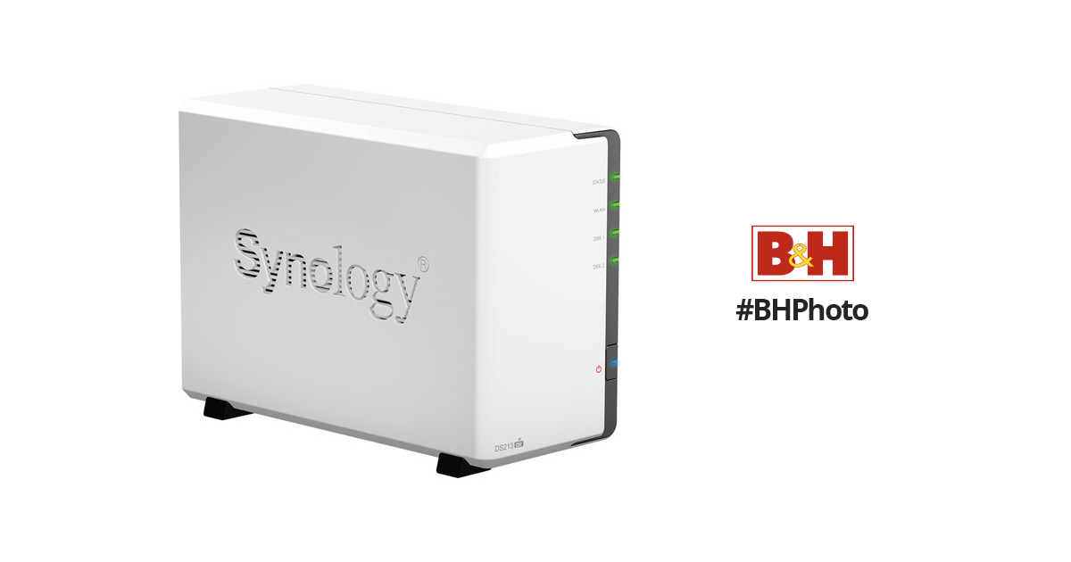 Synology DiskStation DS213air Network-Attached Storage System