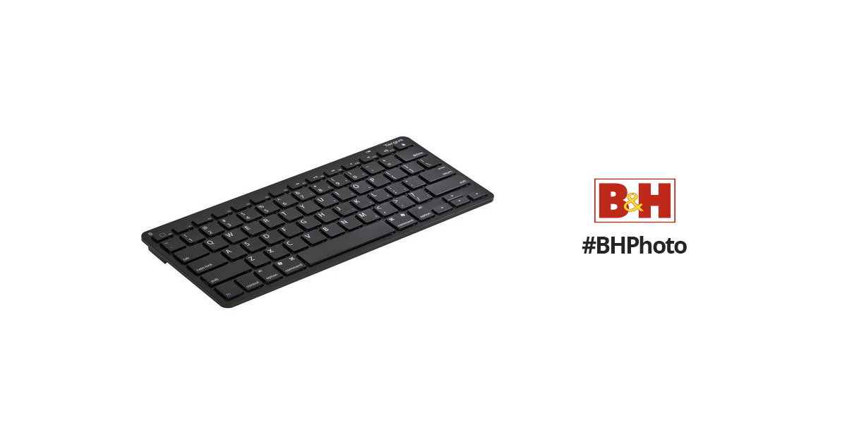 Targus Bluetooth Wireless Keyboard for Tablets (Black) AKB33US