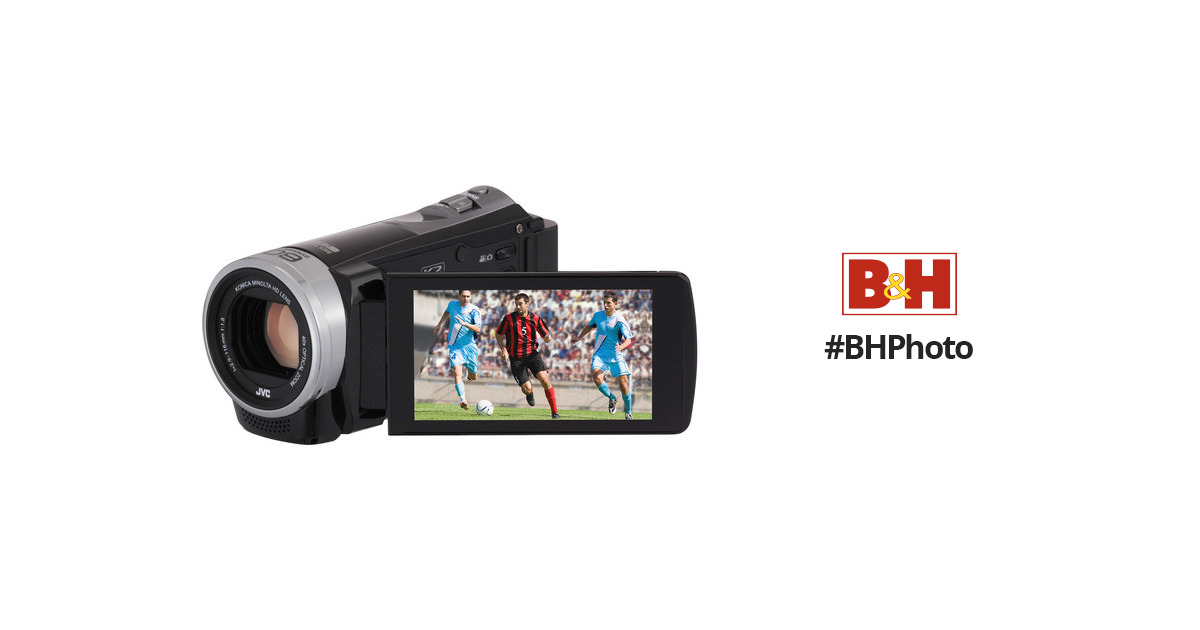 JVC 16GB GZ-EX355 Full HD Everio Camcorder GZ-EX355BUS B\u0026H Photo