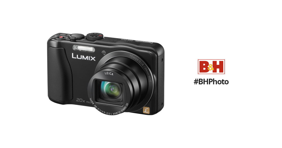 panasonic lumix dmc zs25 digital camera black dmc zs25k b h rh bhphotovideo com panasonic dmc-zs9 manual Panasonic DMC FX100 Software
