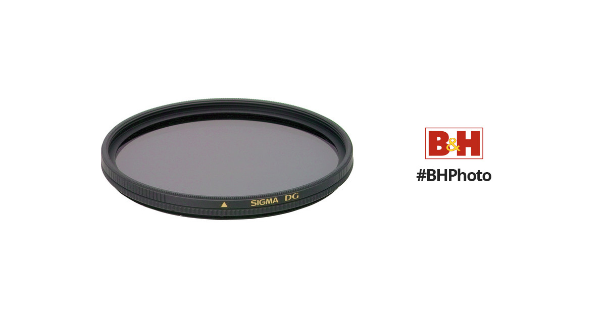 Sigma  DG 52mm Wide Multi-Coated Circular Polarizer Filter