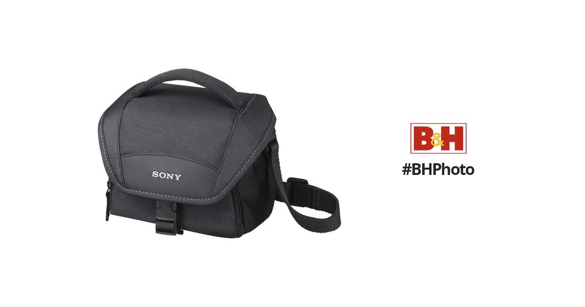 Sony LCS-U11 Soft Carrying Case (Black) LCSU11 B&H Photo Video