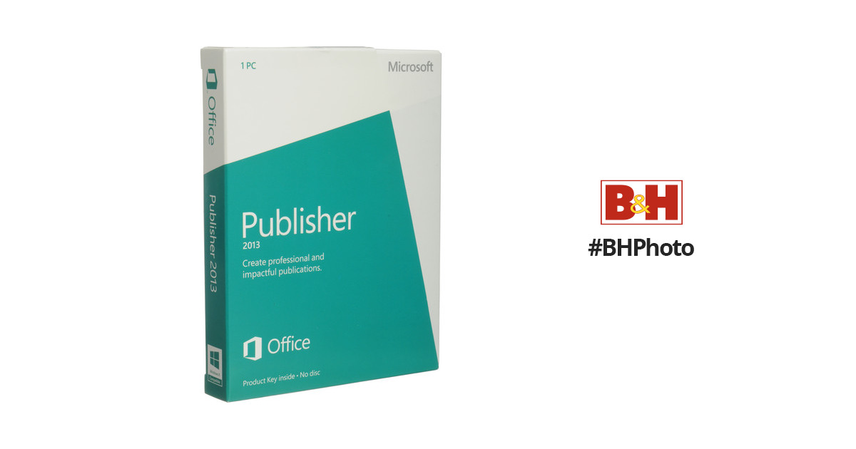 microsoft publisher 2013 key