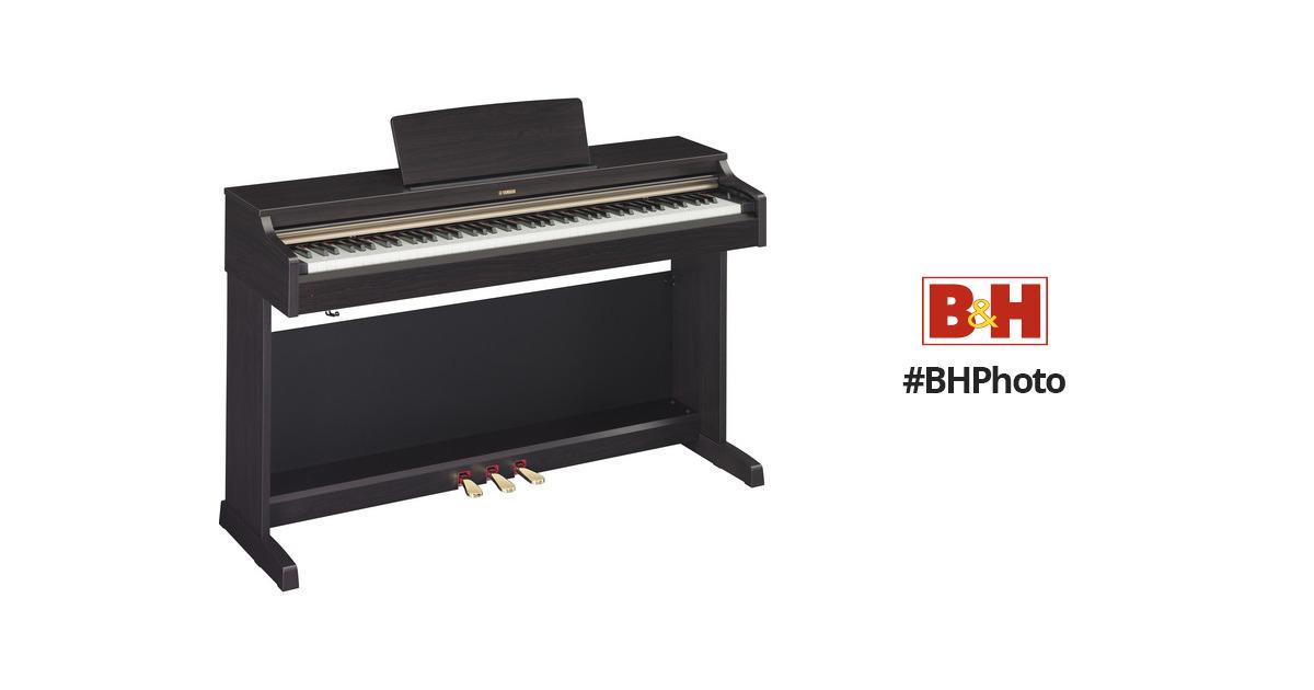 yamaha ydp 162 arius 88 key digital piano dark rosewood. Black Bedroom Furniture Sets. Home Design Ideas