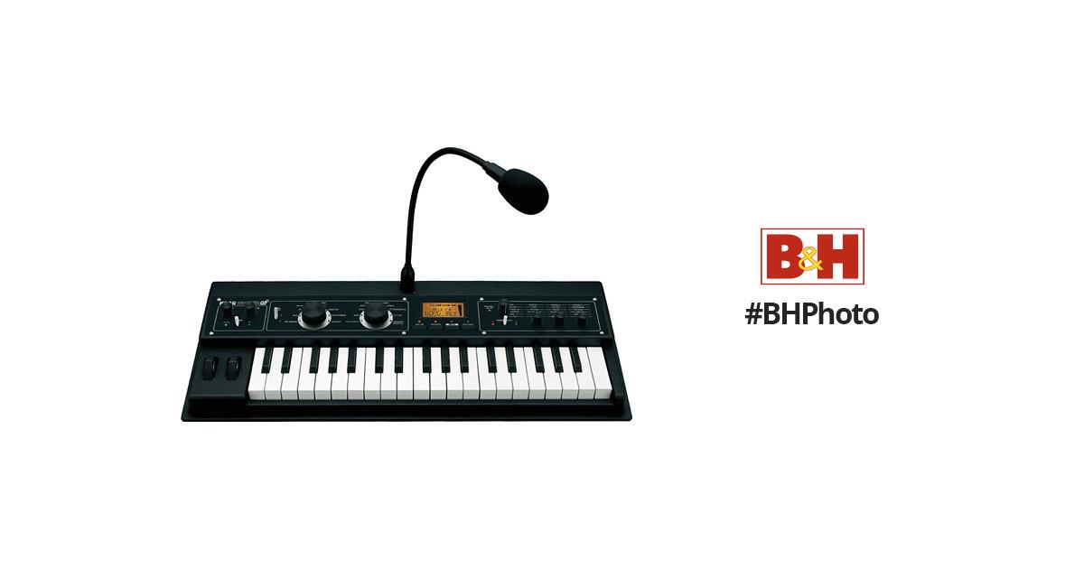 korg microkorg xl synthesizer vocoder microxlplus b h photo. Black Bedroom Furniture Sets. Home Design Ideas