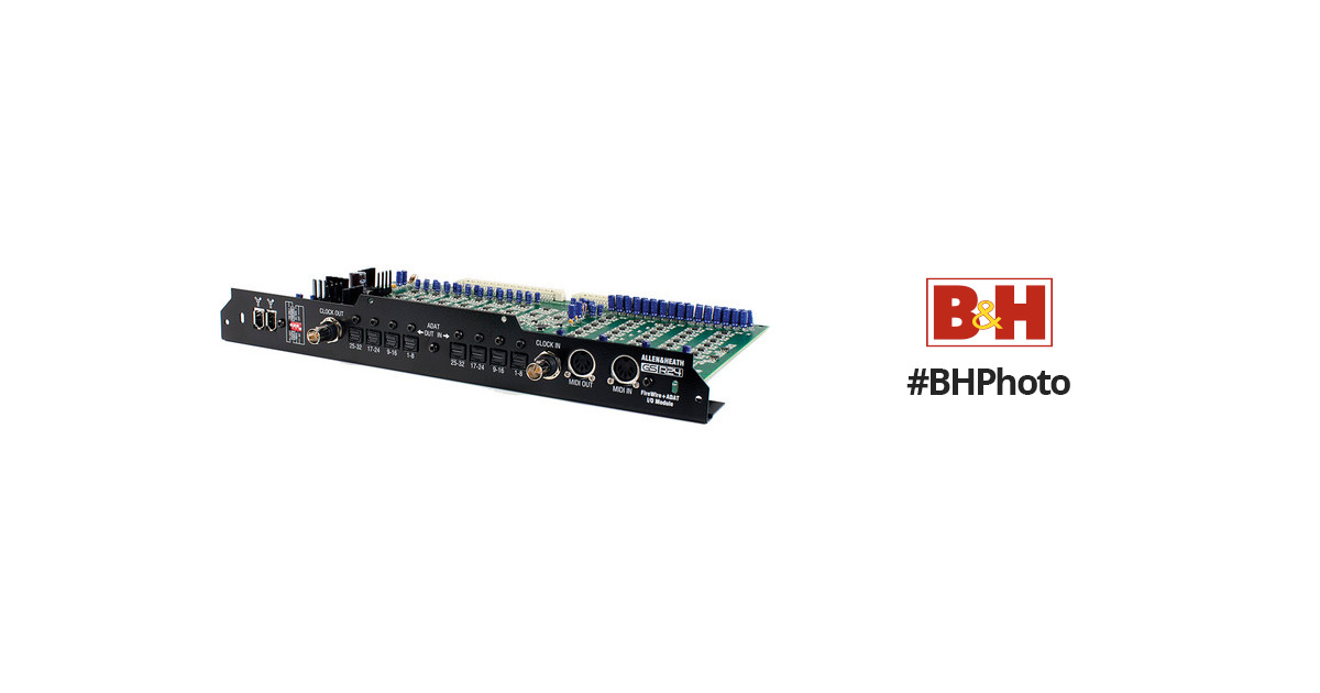 Download Drivers: Allen&Heath GS-R24M Firewire