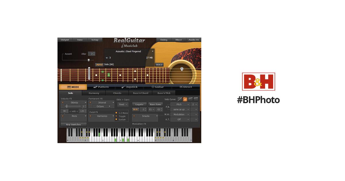 MusicLab RealGuitar 3 Virtual Instrument 12-41274 B&H Photo