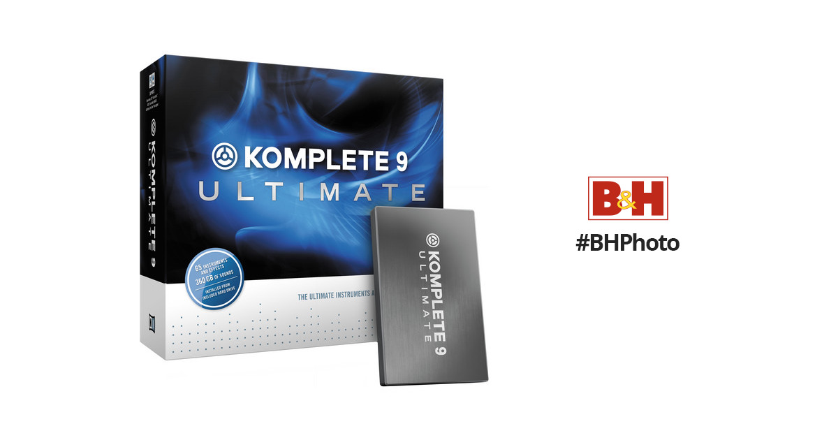 native instruments komplete 9 ultimate system requirements