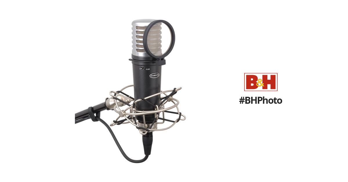 samson mtr201 condenser microphone samtr201a b u0026h photo video