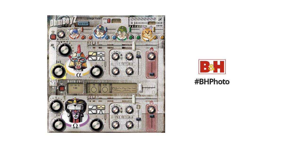 Ohm Force OhmBoyz - Stereo Multi-Tap Delay Plug-In 11-31203 B&H