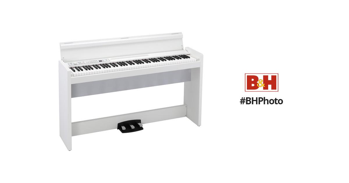korg lp 380 88 key digital piano white lp380wh b h photo video. Black Bedroom Furniture Sets. Home Design Ideas