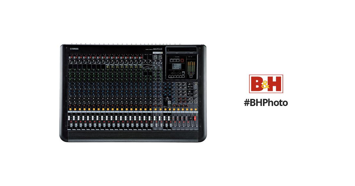 Yamaha mgp24x 24 channel analog mixing console with dsp mgp24x for Yamaha mgp24x 24