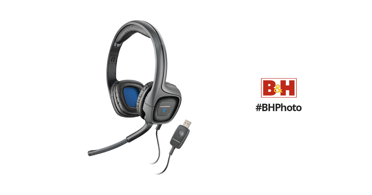 plantronics  audio 655 dsp headset for mac and pc 80935