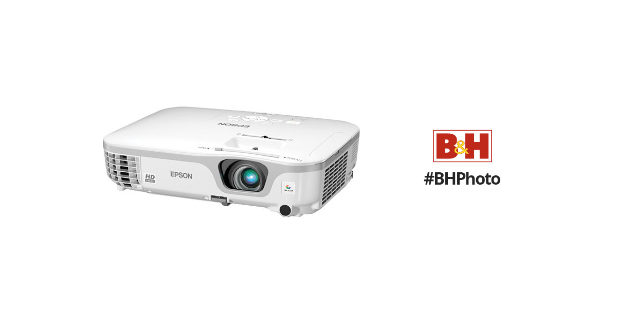 Epson PowerLite Home Cinema 707 720p 3LCD Projector Gold Edition