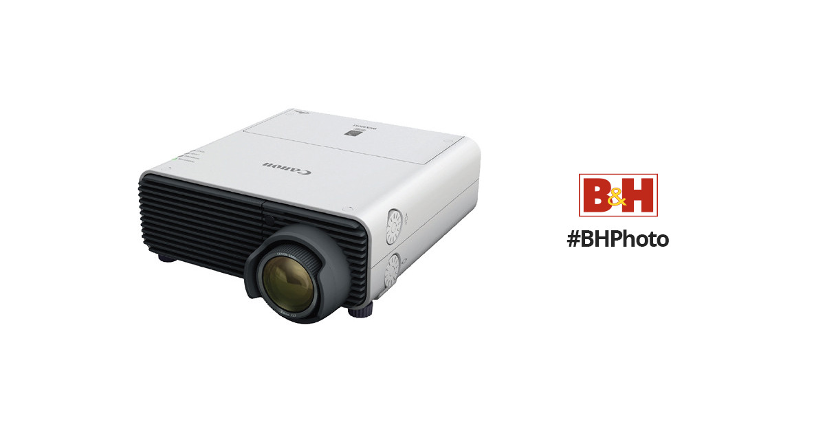 Canon REALiS WUX400ST D Pro AV Projector Windows