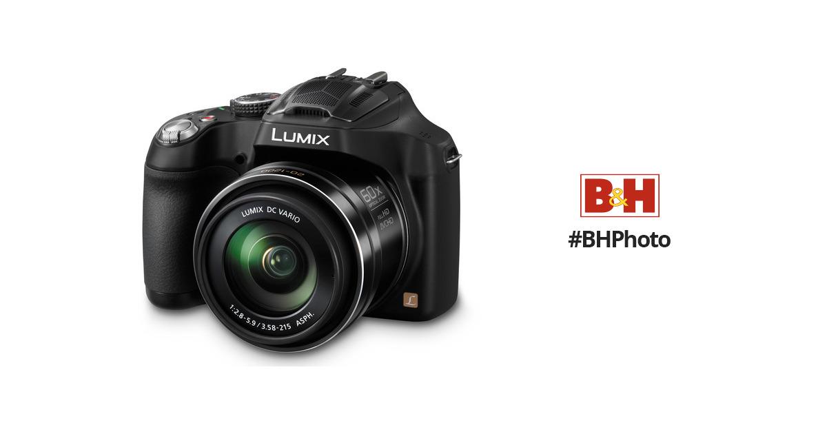 Panasonic Dmc Fz70 Digital Camera Dmc Fz70k Bh Photo