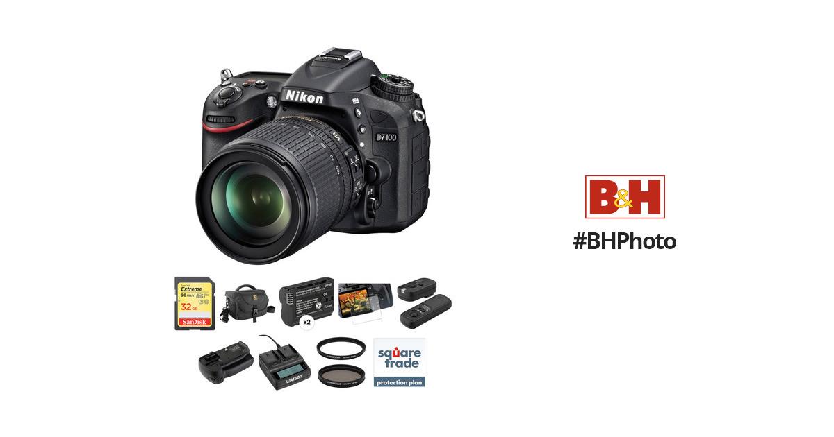 nikon d7100 dslr camera with 18
