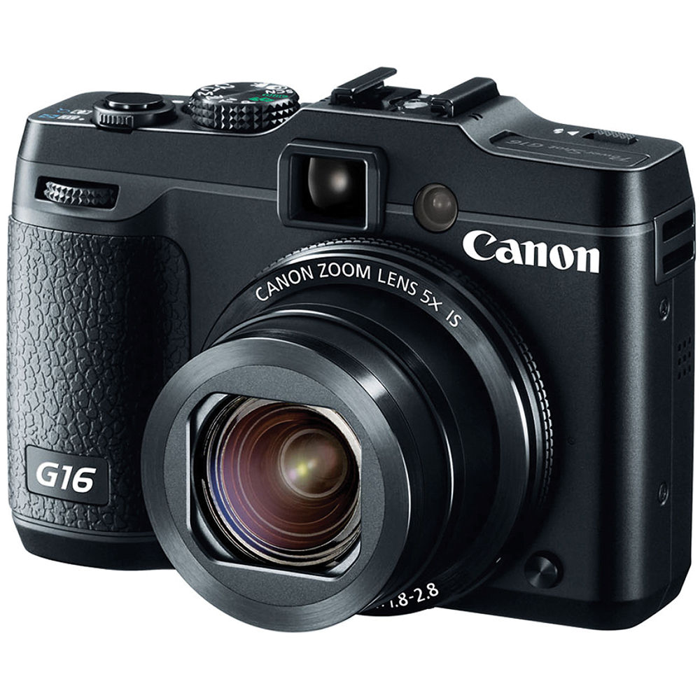 Canon lança câmera digital compacta PowerShot G16