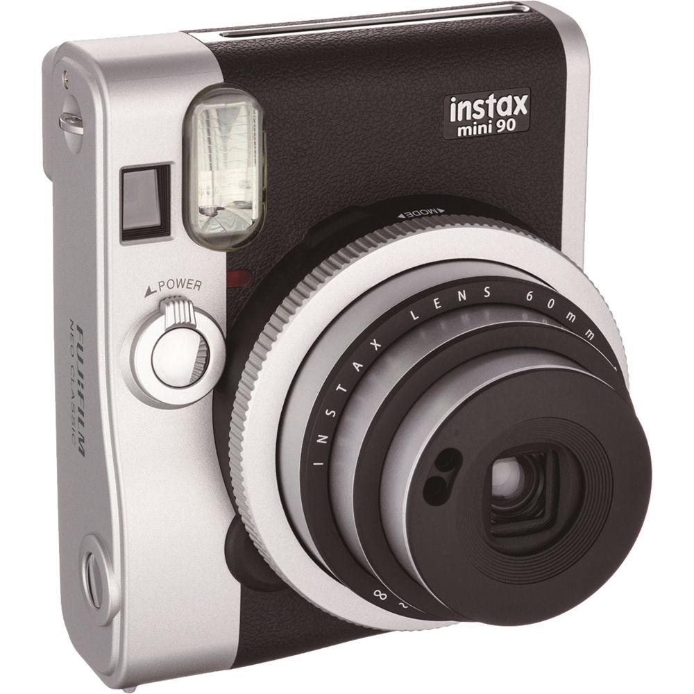 fujifilm instax mini 90 neo classic instant camera. Black Bedroom Furniture Sets. Home Design Ideas
