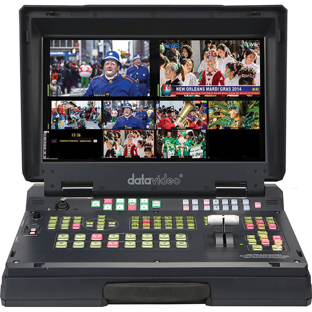 Datavideo hs 2200 hand carried mobile studio with hd sdi for Mobile studio