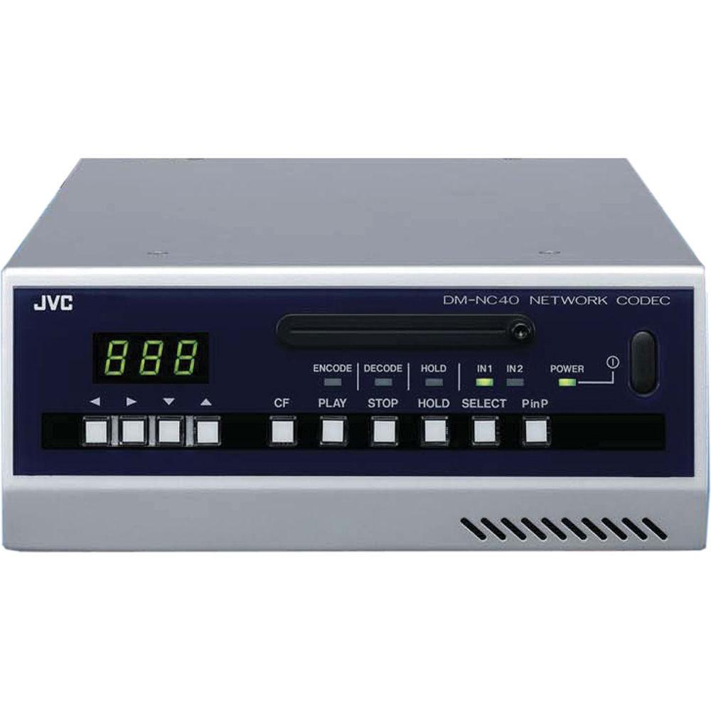 JVC DMNC40U MPEG-4 Network Encoder/Decoder, 2-Inputs, PC/MAC, PTZ Control,  Alarm Function, NTSC