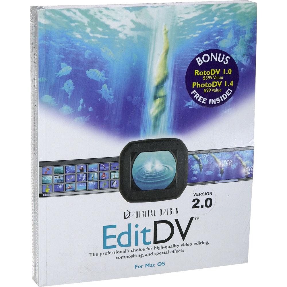 Digital-Origin EditDV 2 0 Non-Linear Editing System (Mac)