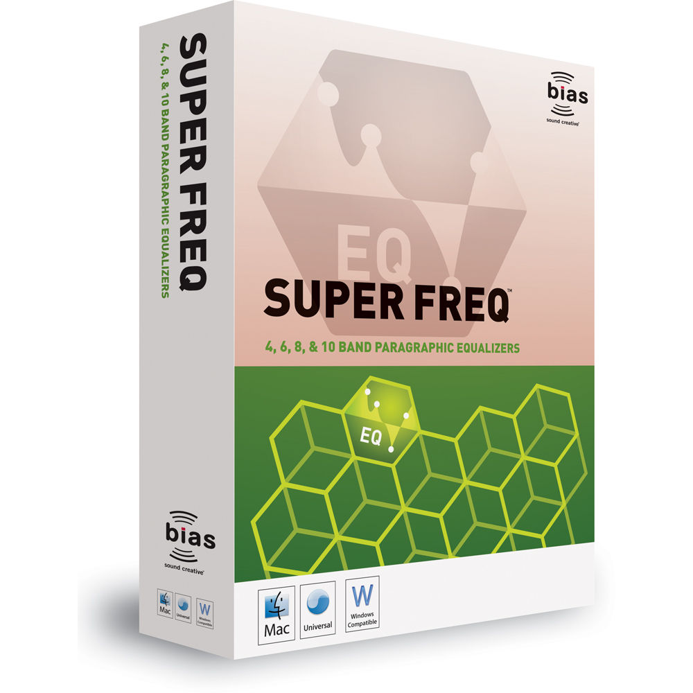 Bias SuperFreq - Paragraphic EQ Plug-Ins
