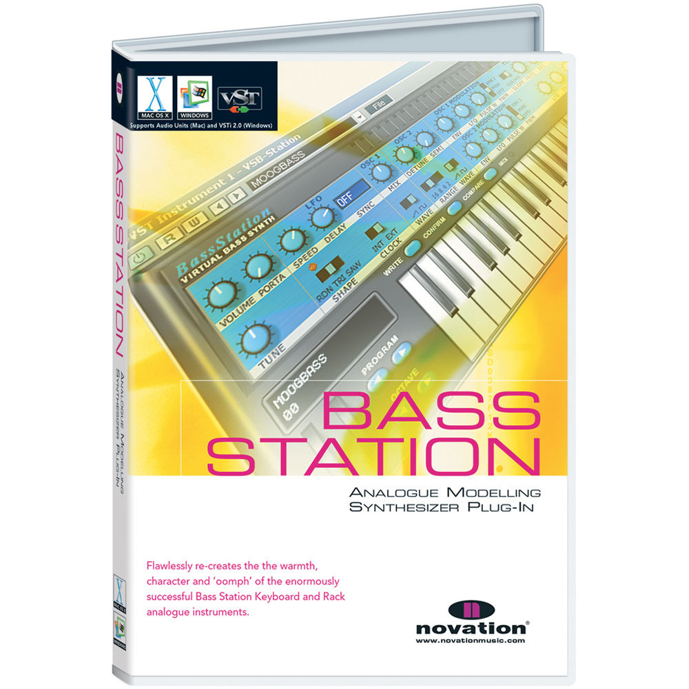 Novation Bass Station - Virtual Analog Synthesizer B-STATION B&H