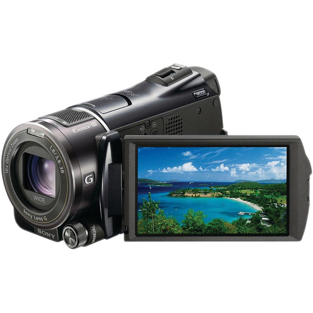Sony hdr-cx550v 64gb hd handycam camcorder hdr-cx550v b&h photo.