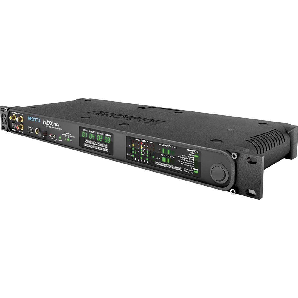 MOTU HDX-SDI SDI, HDMI Analog Video Interface for Desktops