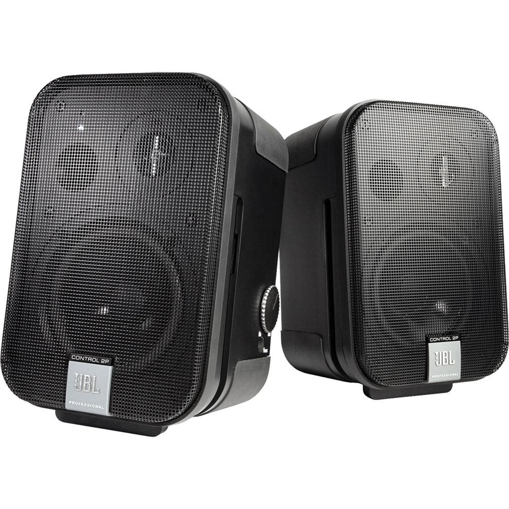 Jbl Home Speakers >> Jbl Control 2p 5 25 2 Way Powered Speaker Pair