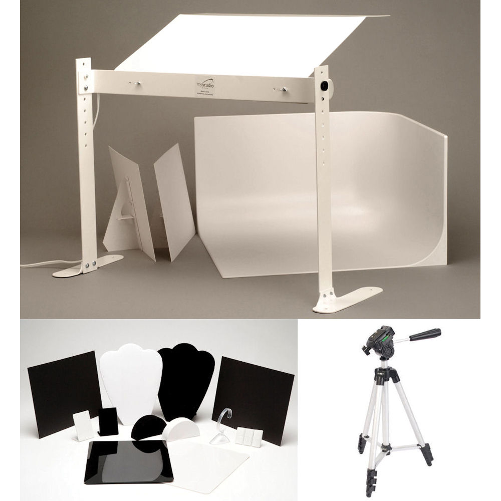 Mystudio Ms20j Tabletop Photo Studio With Fluorescent Ms20j B H