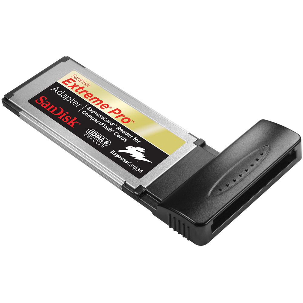 SANDISK EXTREME PRO EXPRESSCARD ADAPTER DOWNLOAD DRIVER