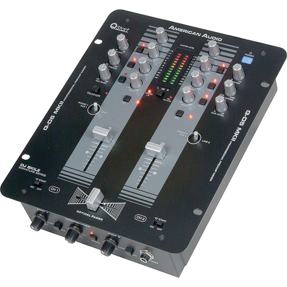 American Audio Q-D5 MKII Pro Scratch Mixer