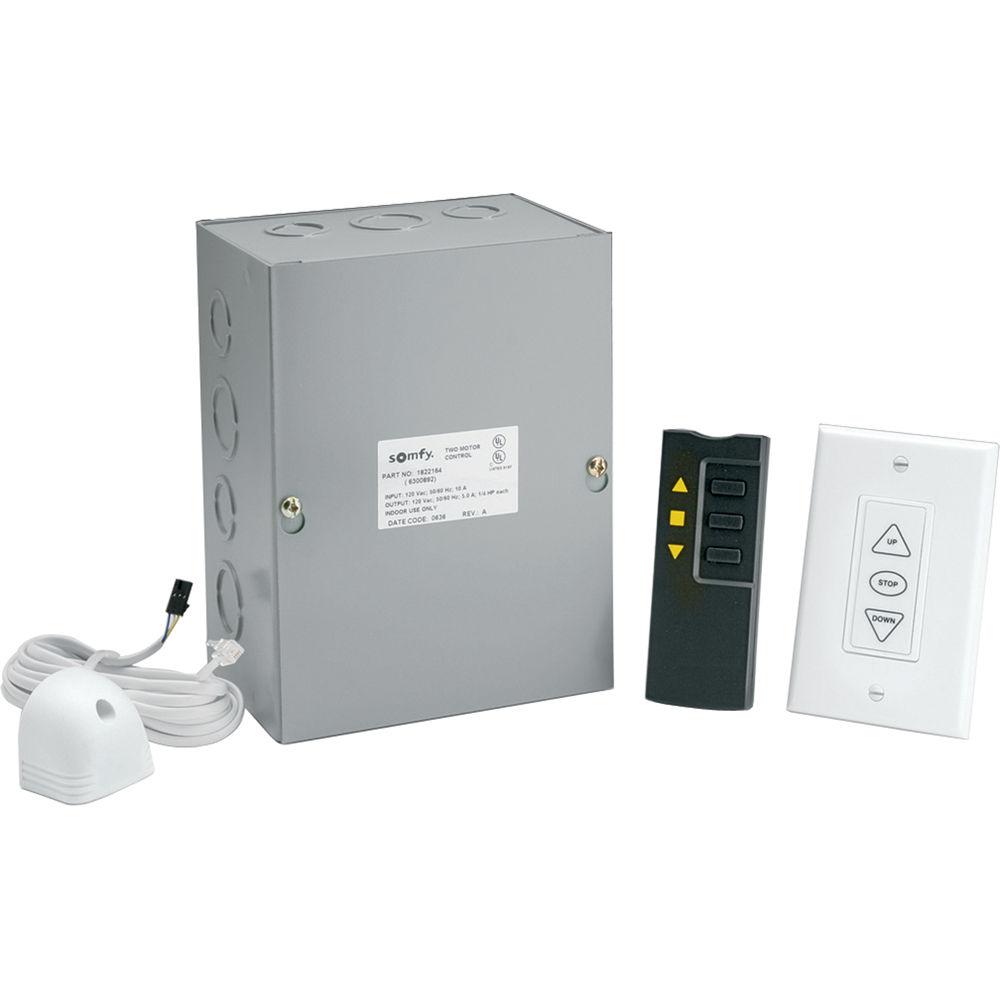Da-Lite Infrared Dual Motor Low Voltage Remote Control 82436 B&H