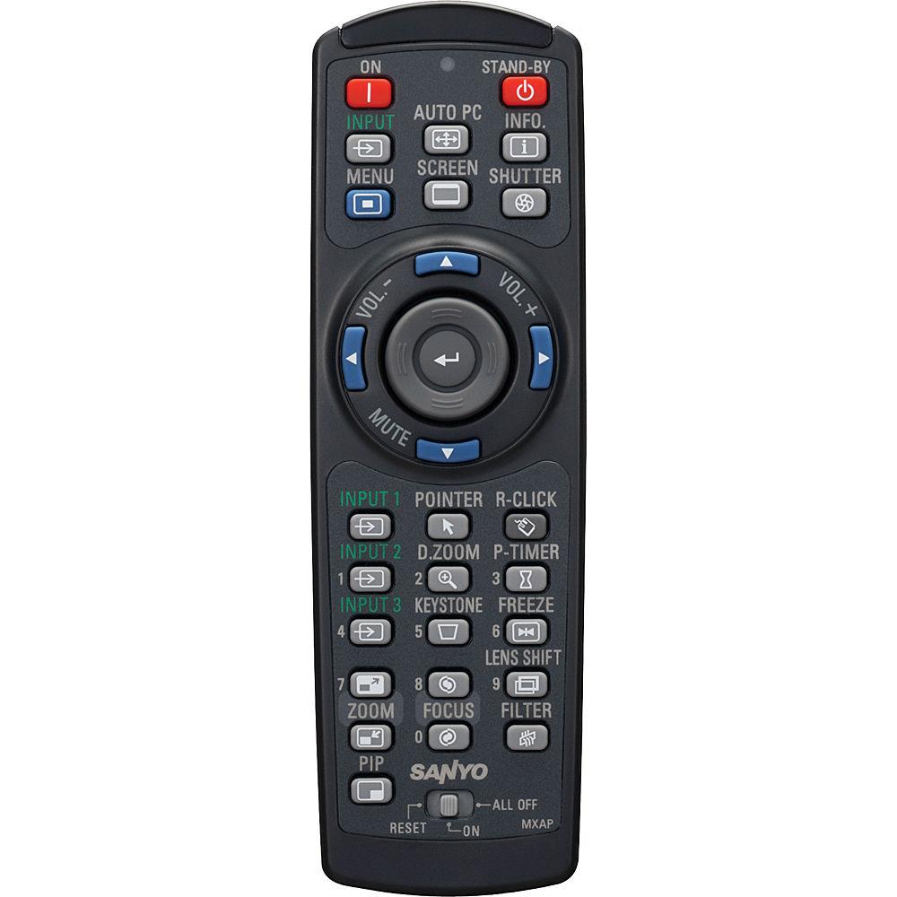 Panasonic Remote Control for PLC-WM5500/L WXGA Projector