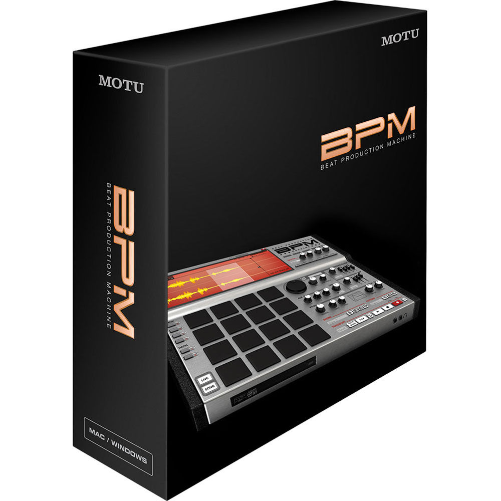 VIRTUAL BAIXAR BPM MOTU DRUM MACHINE