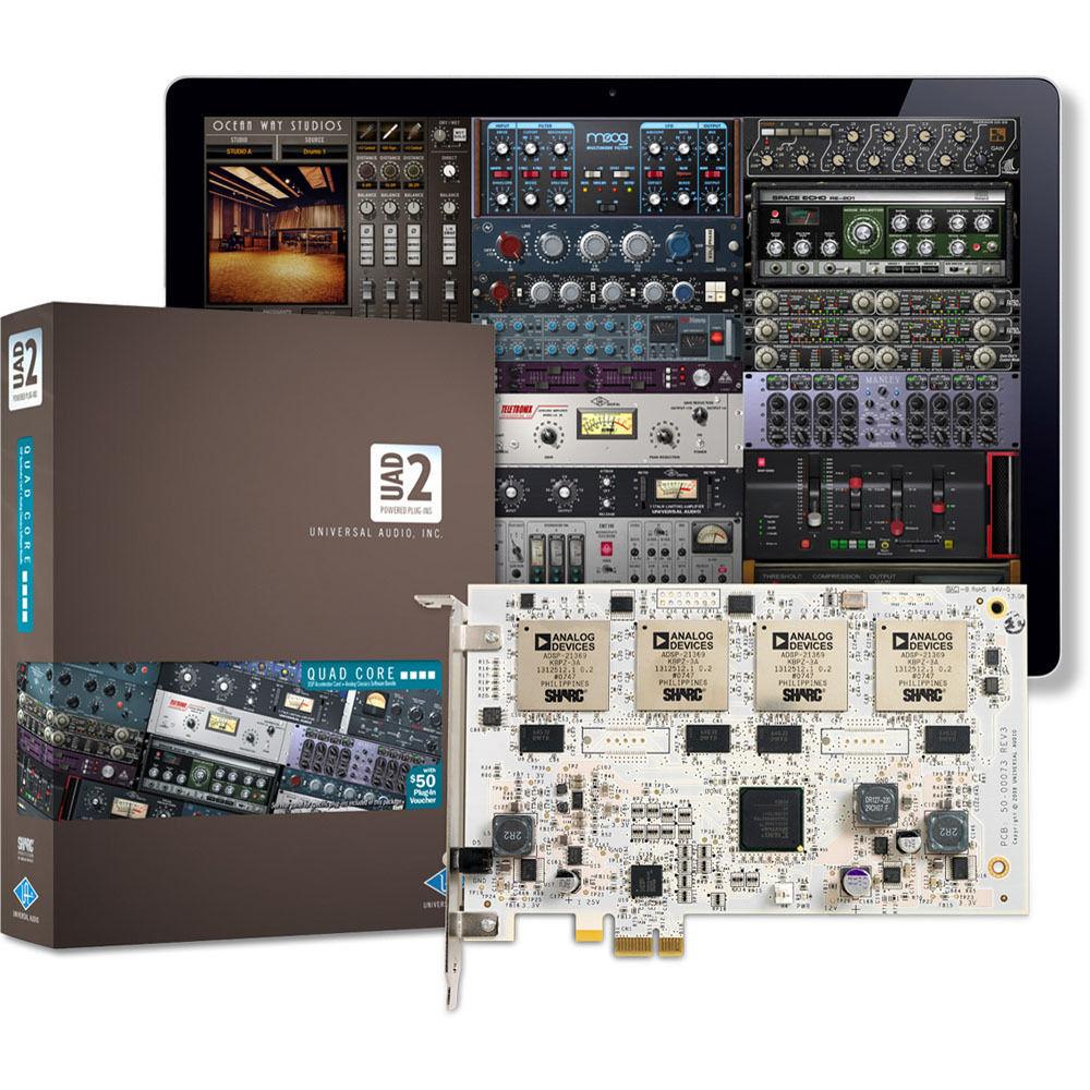 Universal Audio UAD-2 Quad - PCIe DSP Card