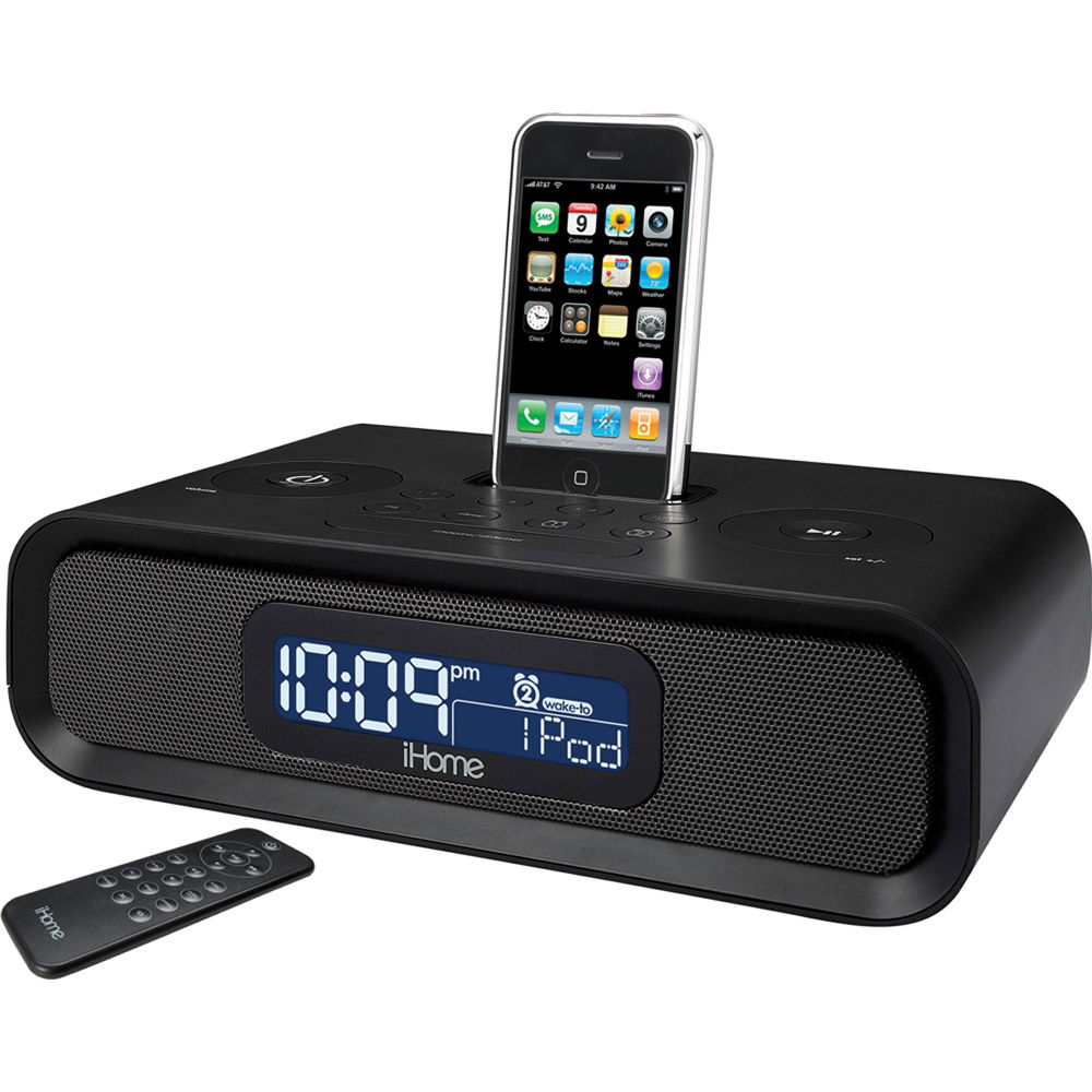 iHome iP98 Dual Alarm Clock Radio